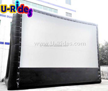 Giant inflatable projection screen