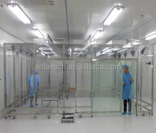 A variety of hundred class clean room made in anlaitech