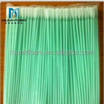 Factory directly sell Changzhou munkfoam industrial dust free alcohol foam swab foam swab cleanroom swab good price