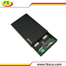 USB2.0 External Hard Disk Case for 2.5'' SATA Hard Drive