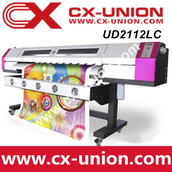 Galaxy digital wall paper printing printing machine UD-2112Lc indoor photo eco solvent based inkjet printer