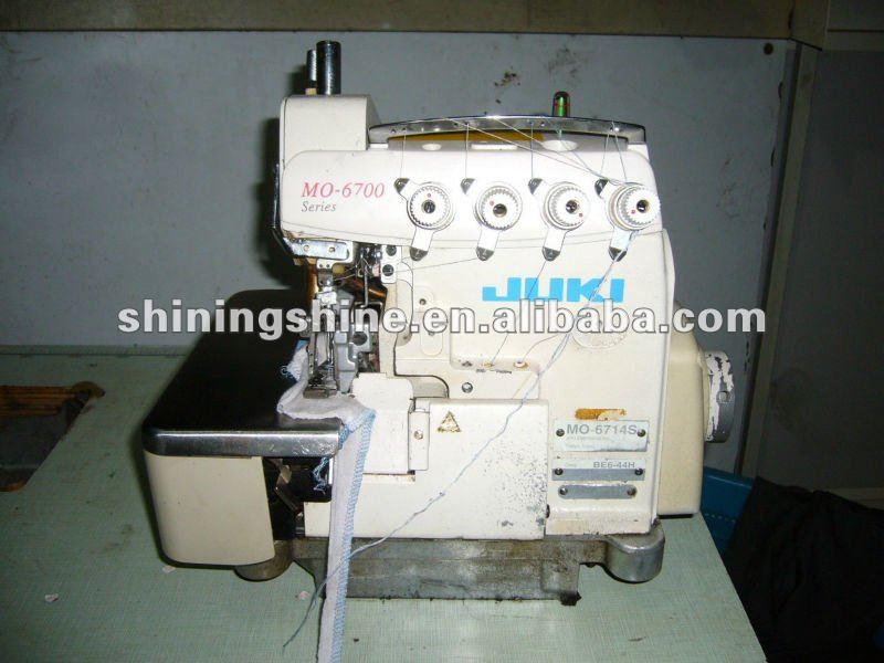 Bas prix utilis juki 4 fil 5 fils surjet machine coudre for Machine a coudre 4 fils