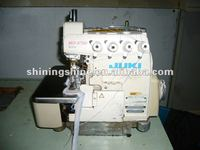 low price used juki 4 thread 5 thread overlock industrial sewing machine