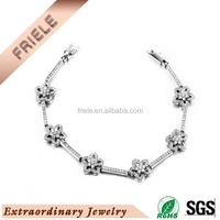 charm latest 925 sterling silver jewelry bracelet