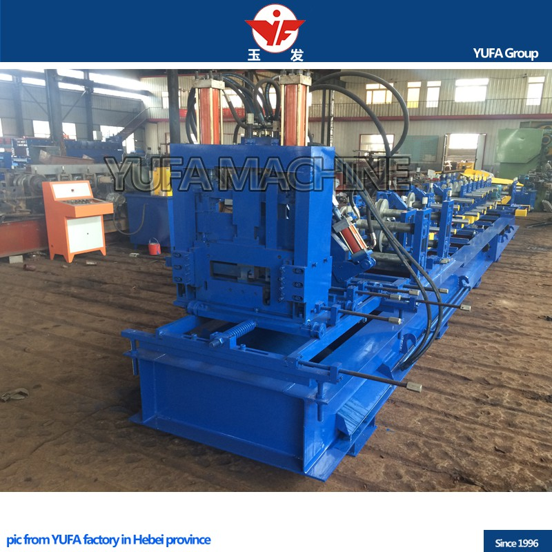 sheet metal rolling machine c z purlin channel shaped steel strut roll forming machine