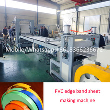 Tongsan PVC edge band sheet production line