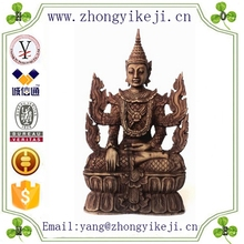 2015 chinese factory custom made handmade carved hot new products Resin indonesian statues of Yoga Buddha