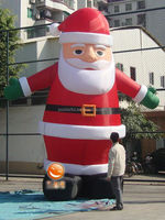 CILE 2014 best selling Inflatable Father Christmas for Christmas Decoration