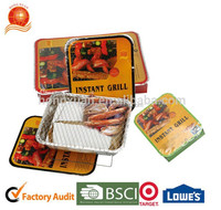 Wholesale Instant Disposable Light BBQ Charcoal mini Grill