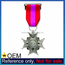 Bulk Custom Made Sport Championship Iron Cross Medal with Ribbon