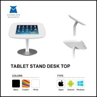 ABS/aluminium display desktop stand for ipad mini