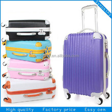 2014 High quality big size travel trolley luggage bag for men