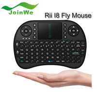 2.4G Mini Rii i8 Wireless Keyboard Remote Controls Air keyboard With Touchpad Keyboards 92 Keys for Andriod TV