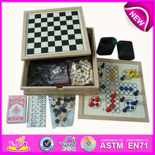 2015 Good quality wooden game board chess set,travel gifts wooden chess set,hot selling wooden chess set toy WJ277094