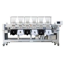 High Precision cap/t-shirt computer embroidery machine 12 computerized machine embroidery