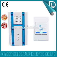 With competitive price battery type remote control door chime led indicator