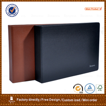 PU cover document file folder&A4 leather folder&file folder with ring binder