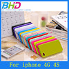 Colorful candy case for iphone 4 iphone 4s