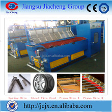 PLC Controlled High Carbon Low Carbon Spring Wire Alloy Wire JCJX-24B/A Straight Wet High Speed Wire Drawing Machine