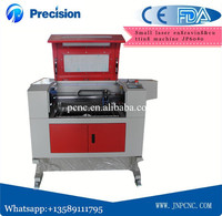 CO2 laser engraving machine 6040 for leather bamboo rubber high quality with CE