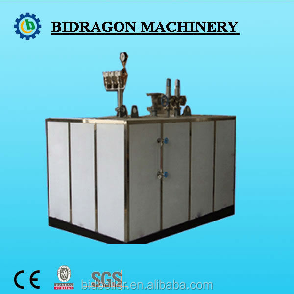35-1000kg/hr Vertical Gas/Oil Fired Steam Boiler