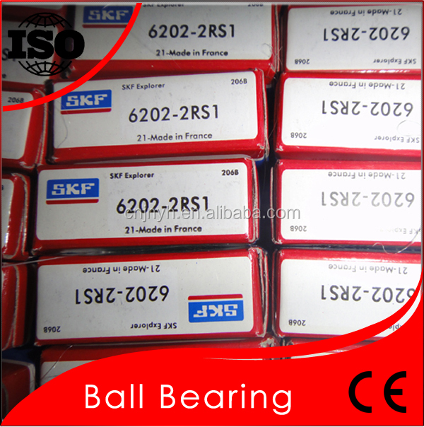 Promote Original SKF Bearing 6202 2RS ZZ Single Ball Bearing 6202