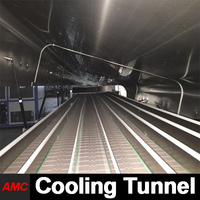 Electrically Controlled Tremendous Cost Savings Most Durable In Use veg oil refinary cooling tunnel