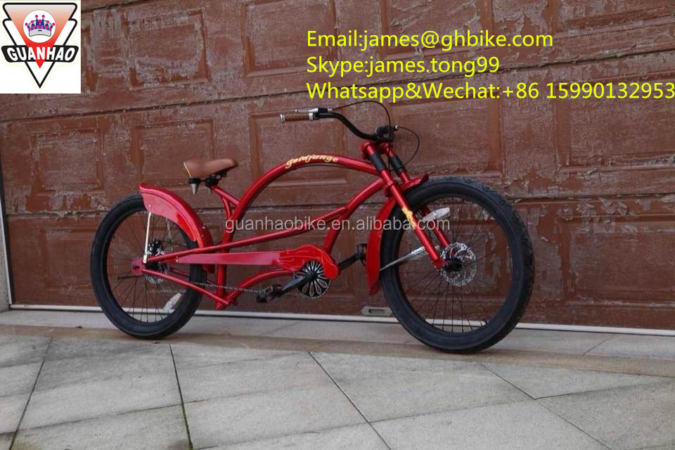 "2015 28"" beach cruiser bike/cruiser bike, cruiser bicycle with special frame and big tire"
