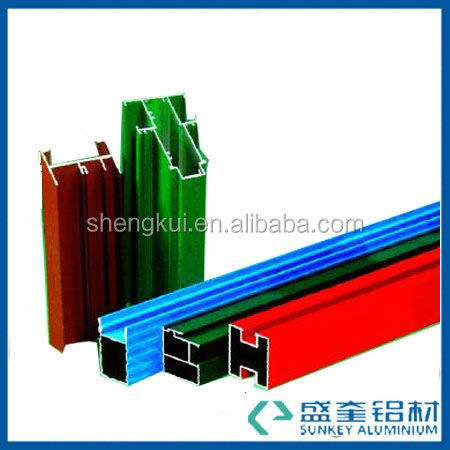 thermal break aluminium profile for aluminium profile in dubai supplier in Zhejiang China