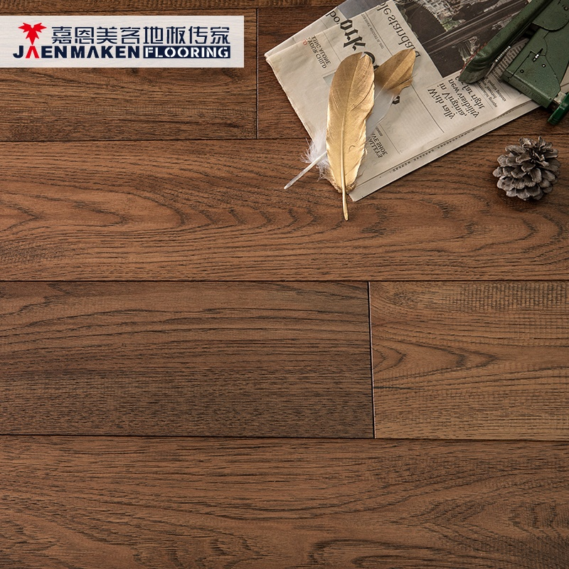 "18/2 x 6"" Hand scraped Hickory Veneer Multi-Layers Laminated / Engineered Wood <strong>Flooring</strong>"