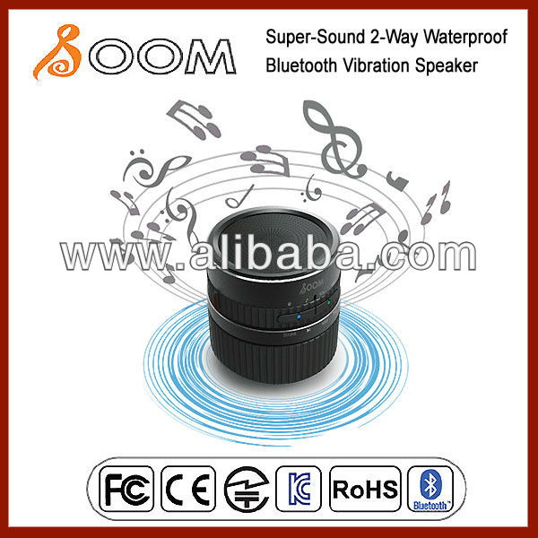 Vibration Speaker with Waterproof Bluetooth function