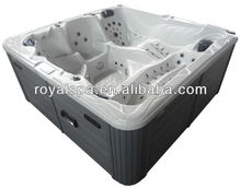 2 Person Lounge Seats Acrylic Shell Whirlpool Bathtub Swim Spa Hot Tub