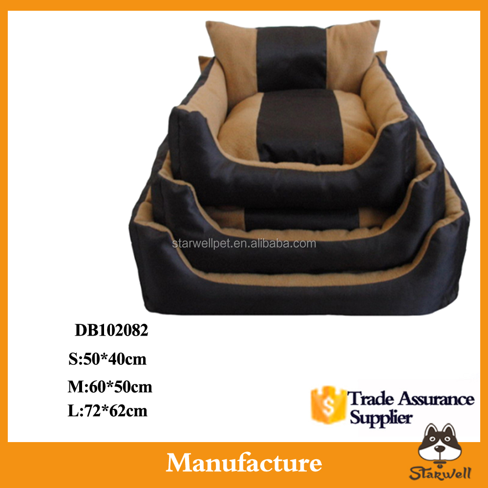 Factory directly wholesale high quality large dog bed, pet bed