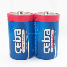 CEBA Primary 1000mah Dry Cell Lr20 D Size Alkaline Battery
