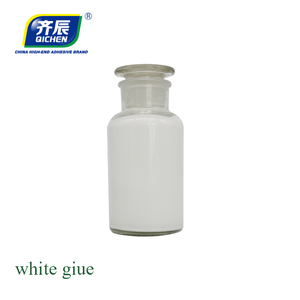Non-toxic water based white book binding glue dry clear glue