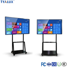 55-98Inch fashion-design interactive tv finger touch screen whiteboard