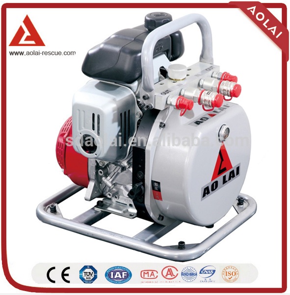 Aolai Double Output Gas/Petrol Quattro Motor Pump Power Unit