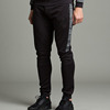 wholesale mens jogger 100% polyester sweat pants