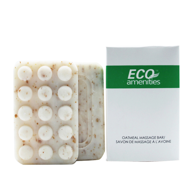 Eco Ameniites Face And Body Bar Travel Amenities Hotel Toiletries in Plastic Bag(Hotel Size 42g,250Pack) by Eco-Amenities