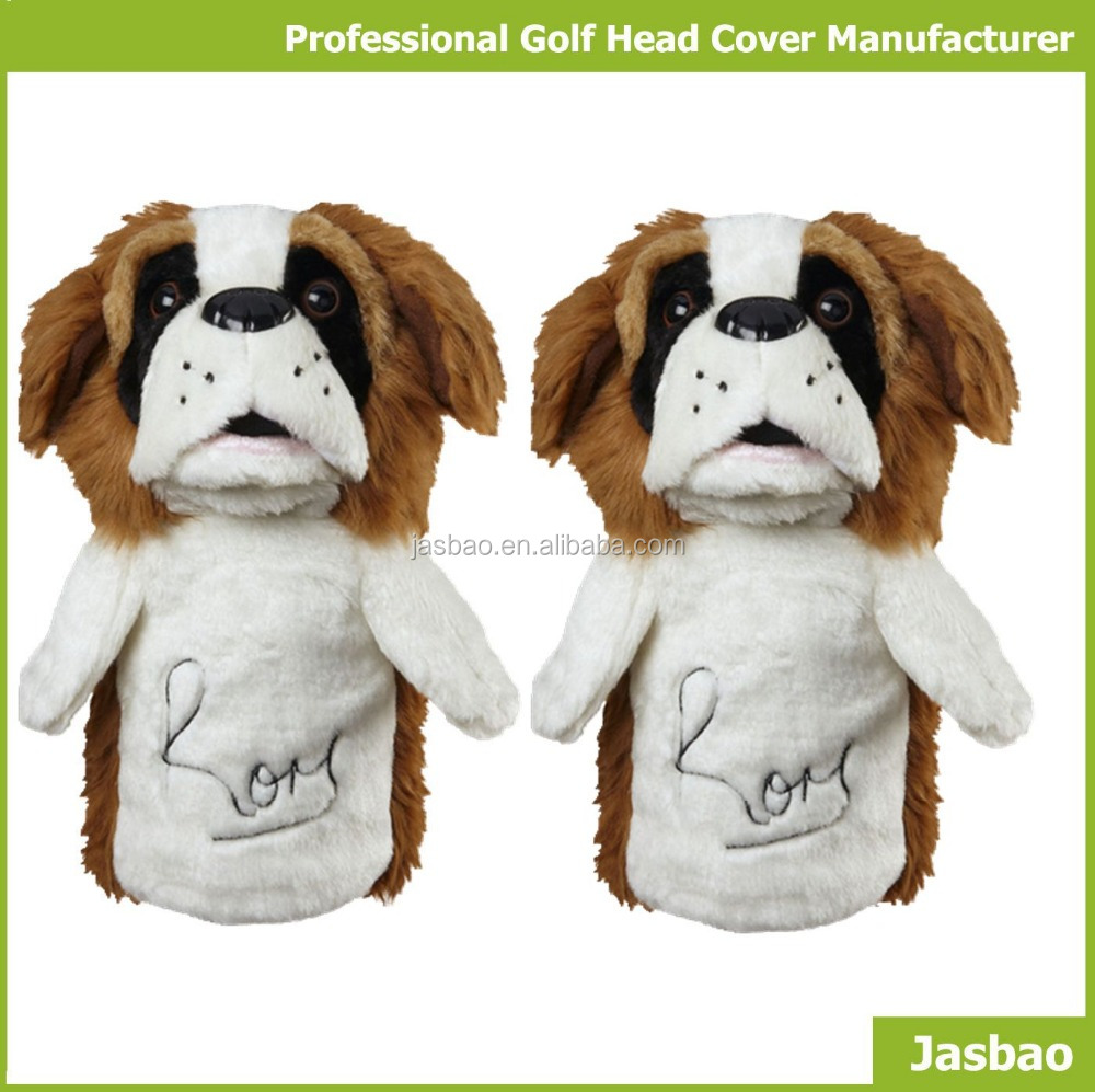 Knitted Cute Amimal Golf Club Head Cover