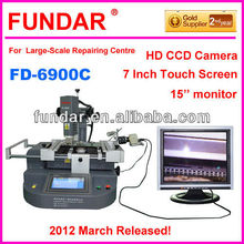 Factory direct sale FUNDAR FD-6900C touch screen 3 temperature zone bga vga repair machine for xbox motherboard