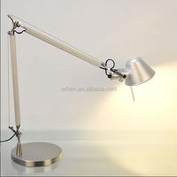 Clip home led table light Aluminum office flexible led desk lamp