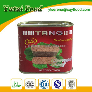 Wholesale Good Taste Canned Corned Beef Halal Beef