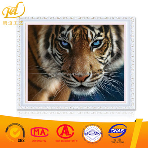 Wholesale Cute Animal Tiger Embroidery Needlework Set Diamond Painting for Diy By yourself