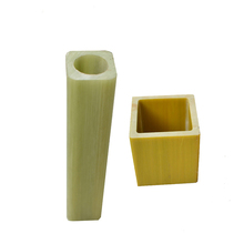 custon Pultrusion Fiberglass Tubes Fiberglass Hollow insulation fiber glass rod