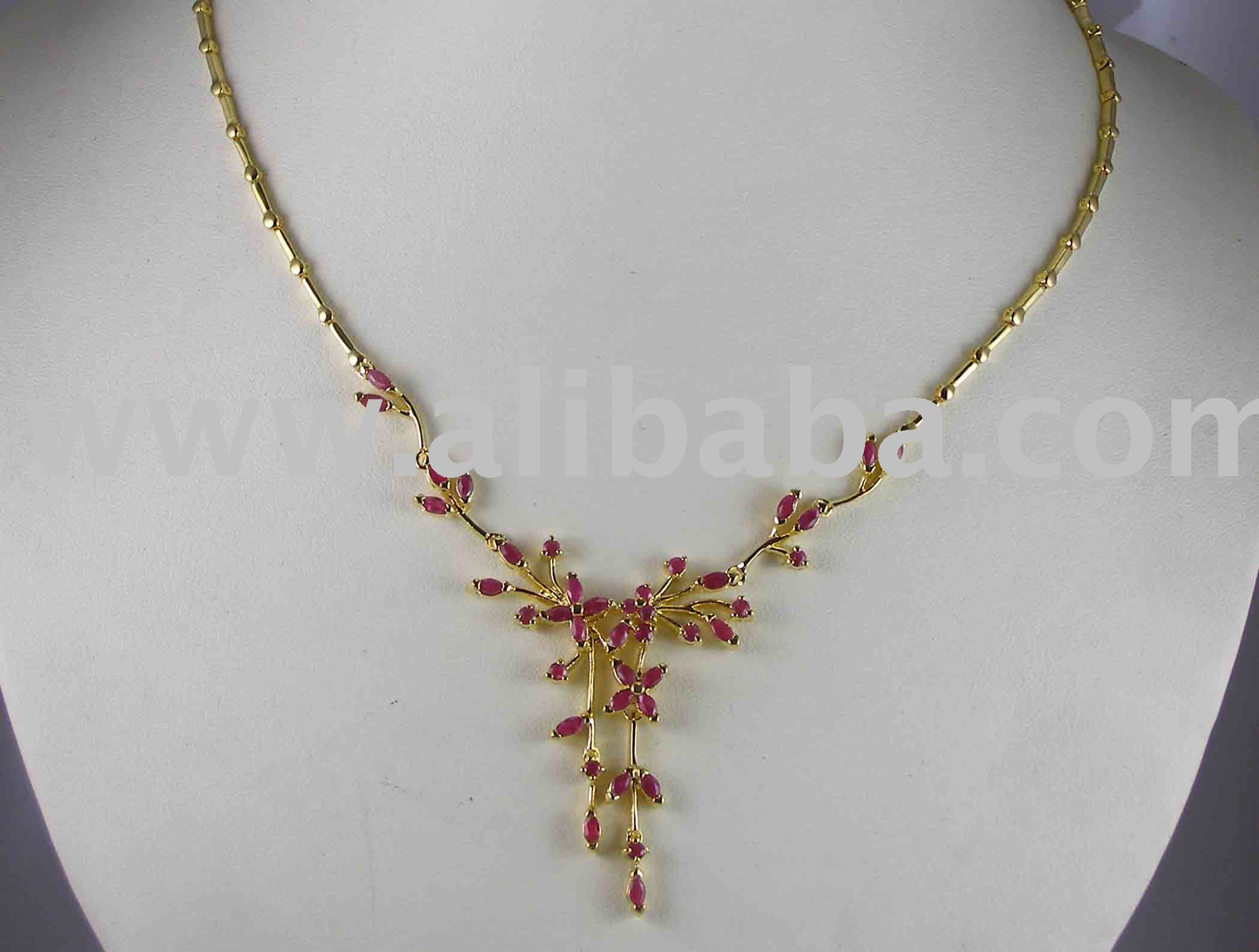 New Simple Gold Necklace Designs | Jewellry\'s Website
