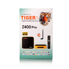 Tiger Z400 Pro DVB S2 Set Top Box for one year platinum IPTV