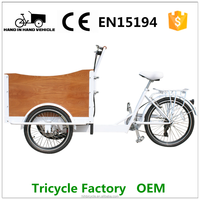 motor cargo trike outing bicycle 3 wheel cargo trike for carry