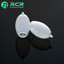 Customized Disposable high temp silicone rubber negative pressure drainage ball for Medical products