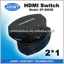 Hot Selling HDMI Switch Box 1 in 2 out